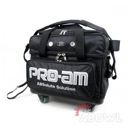 2018 ABS 프리미엄 2볼캐스터백(블랙)